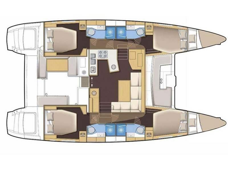 Lagoon 450 (Didyme) Plan image - 5