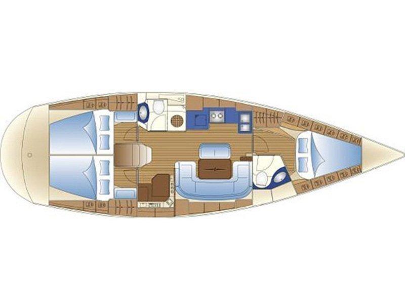 Bavaria 42 Cruiser (B42-05-S) Plan image - 1