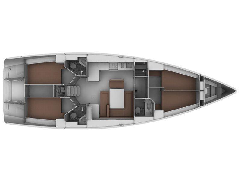 Bavaria Cruiser 45 (Rachelle) Plan image - 10