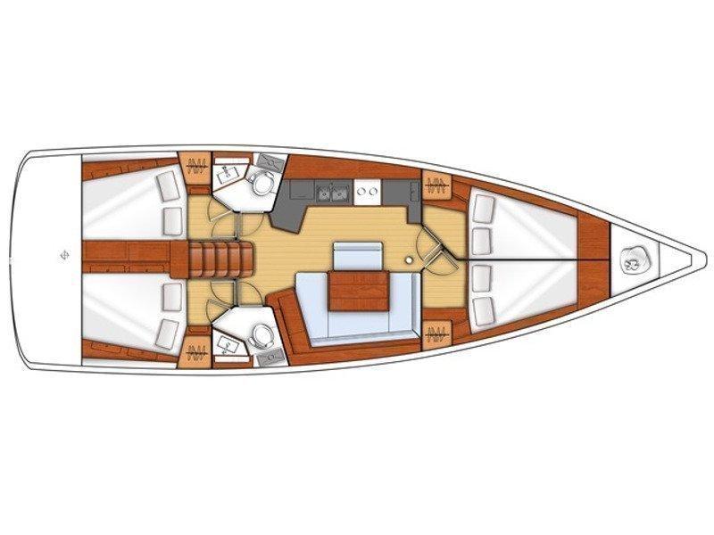 Oceanis 45 (JN) Plan image - 2