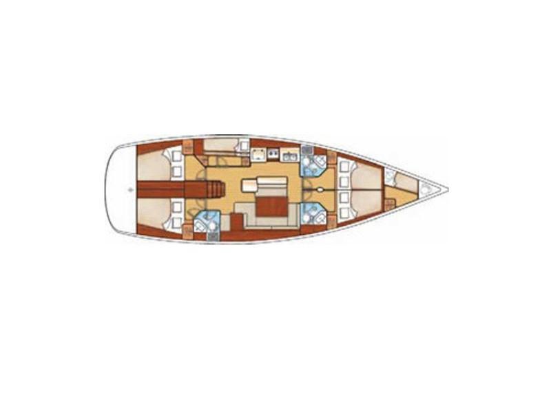 Cyclades 50.5 (Emma & Jack) Plan image - 3