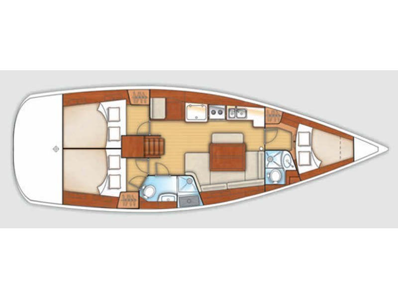 Oceanis 40 (MARCO POLO - Refit2018) Plan image - 2