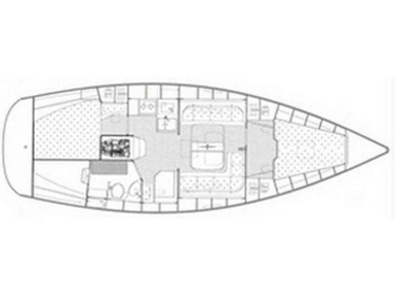 Bavaria 38 Cruiser/2cbs (EC- 381-08-G) Plan image - 2