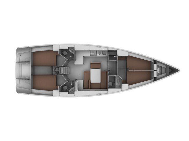 Bavaria Cruiser 45 (Eclipse) Plan image - 3