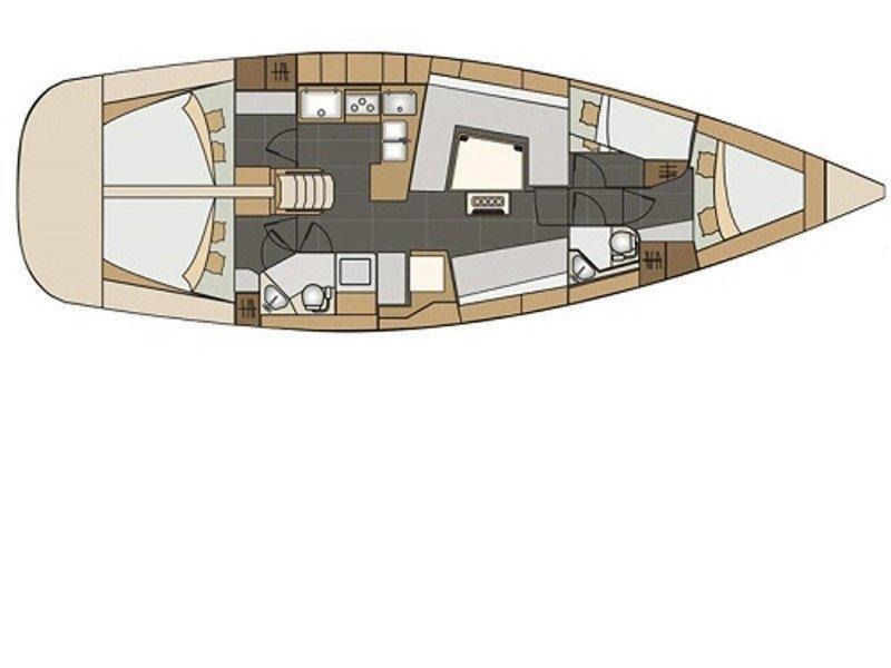 Elan 45 Impression (Histria) Plan image - 1