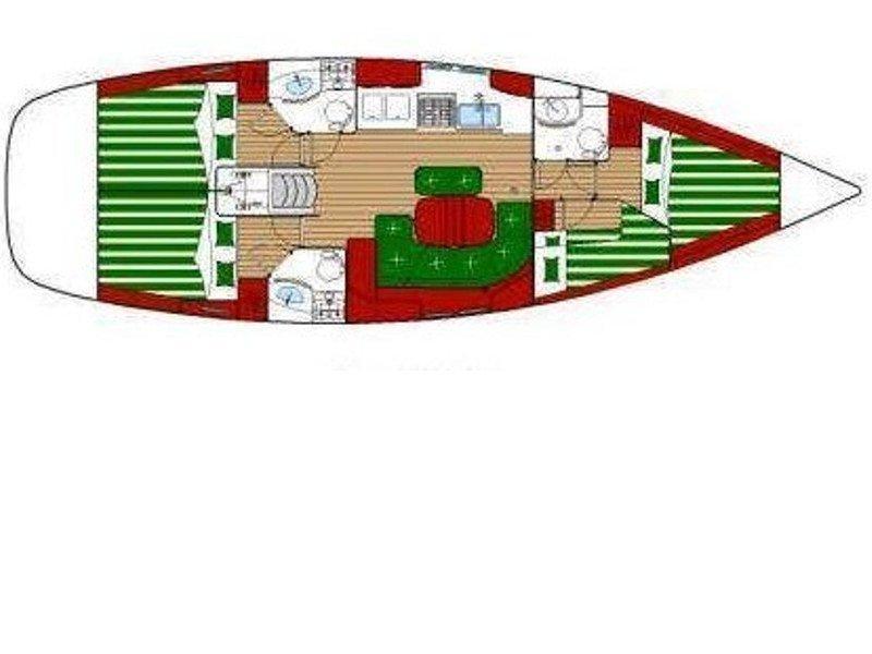 Oceanis 423 (Masha) Plan image - 3