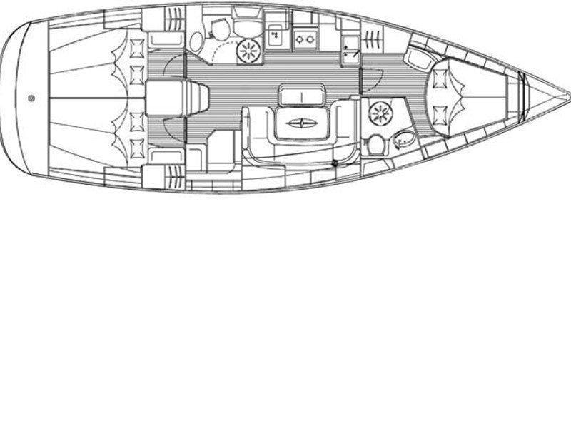 Bavaria 39 Cruiser (Ariela) Plan image - 1