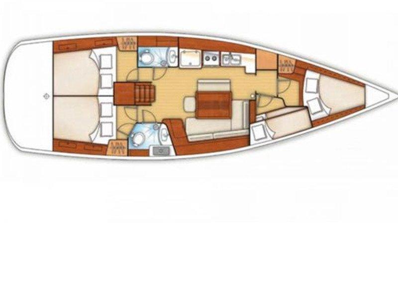 Oceanis 43 (Beauty L) Plan image - 2