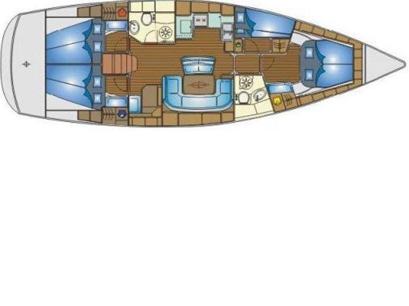 Bavaria 46 Cruiser (Enalia ) Plan image - 1