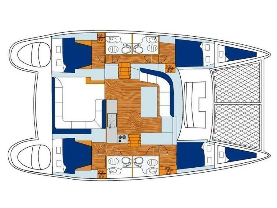 Lagoon 440  (Iris) Plan image - 5