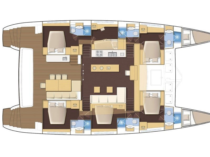 Lagoon 620 (ADRIATIC LION) Plan image - 20