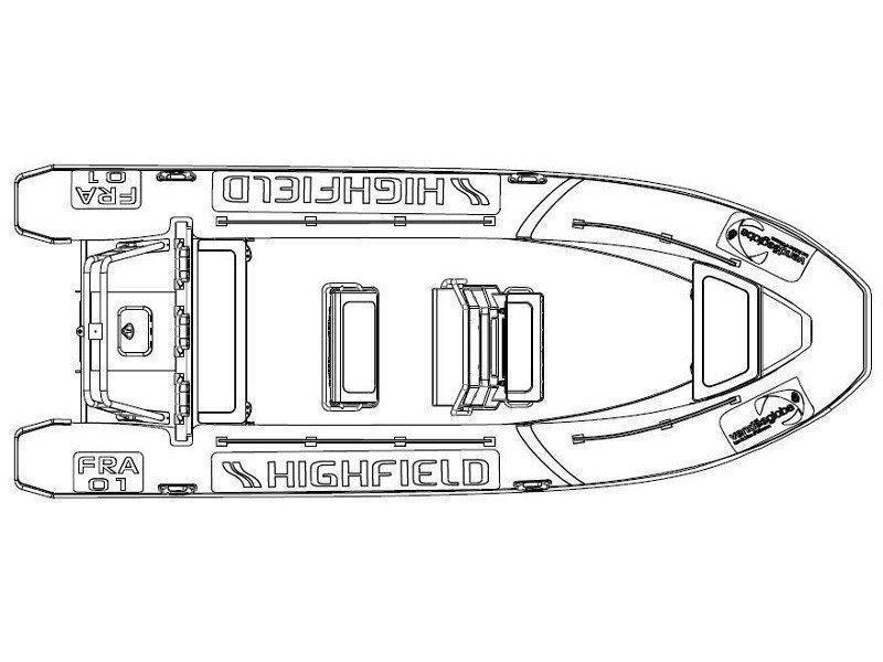 Highfield Patrol 660 (RIB No Name) Plan image - 8