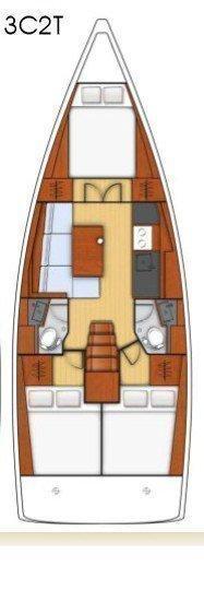 Oceanis 38.1 (PHILYRA )  - 12