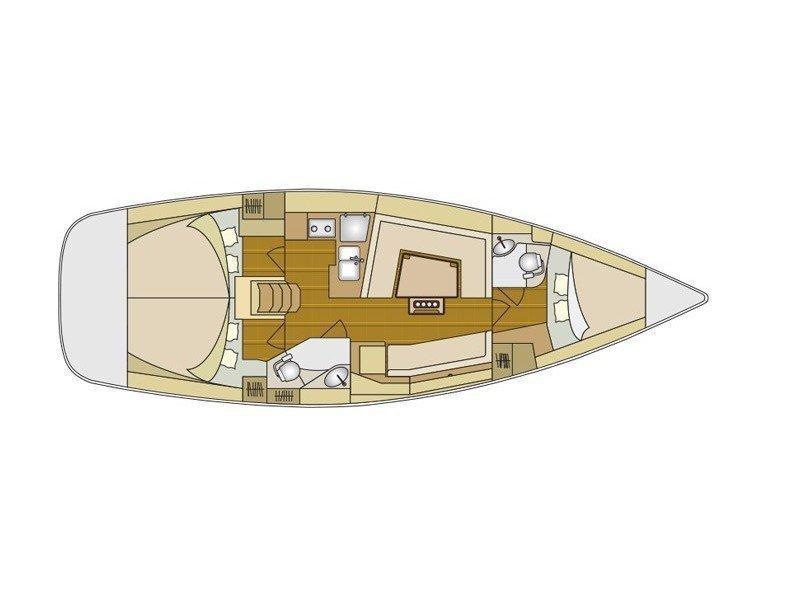 Elan 40 Impression (Marie) Plan image - 4