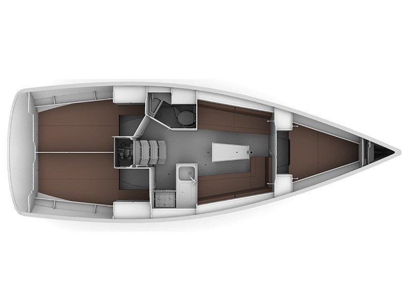 Bavaria Cruiser 34  (ARIZONA) Plan image - 2