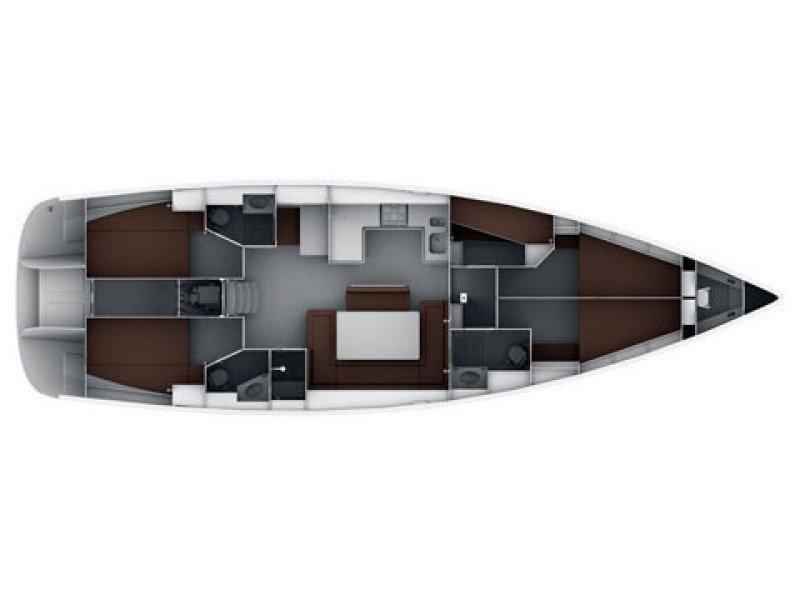 Bavaria Cruiser 50 (STAR ISABELLA) Plan image - 17