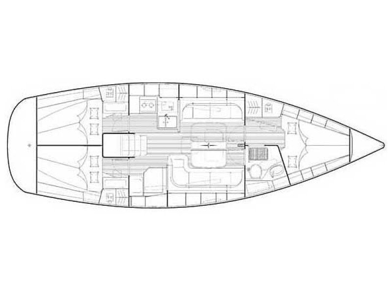 Bavaria 38 Cruiser (CORI) Plan image - 15