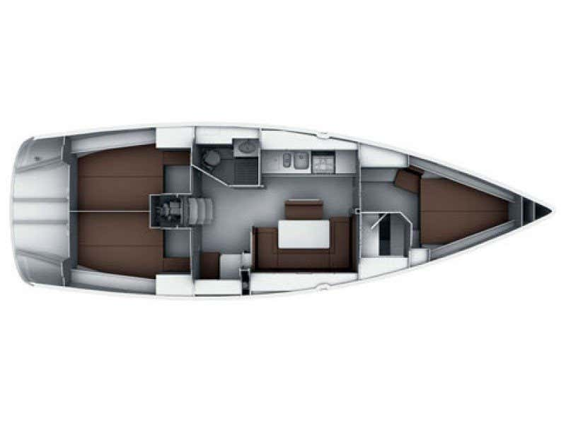 Bavaria Cruiser 40S (SILVER ARROW) Plan image - 13