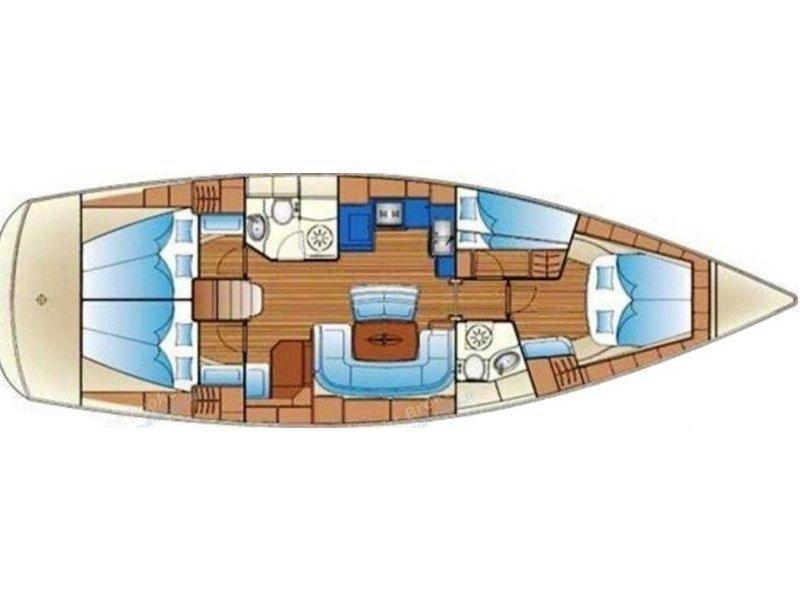 Bavaria 46 Cruiser (Mythos) Plan image - 7