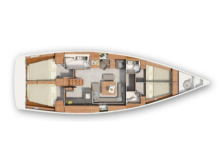 Hanse 455 (Maxine) Plan image - 11