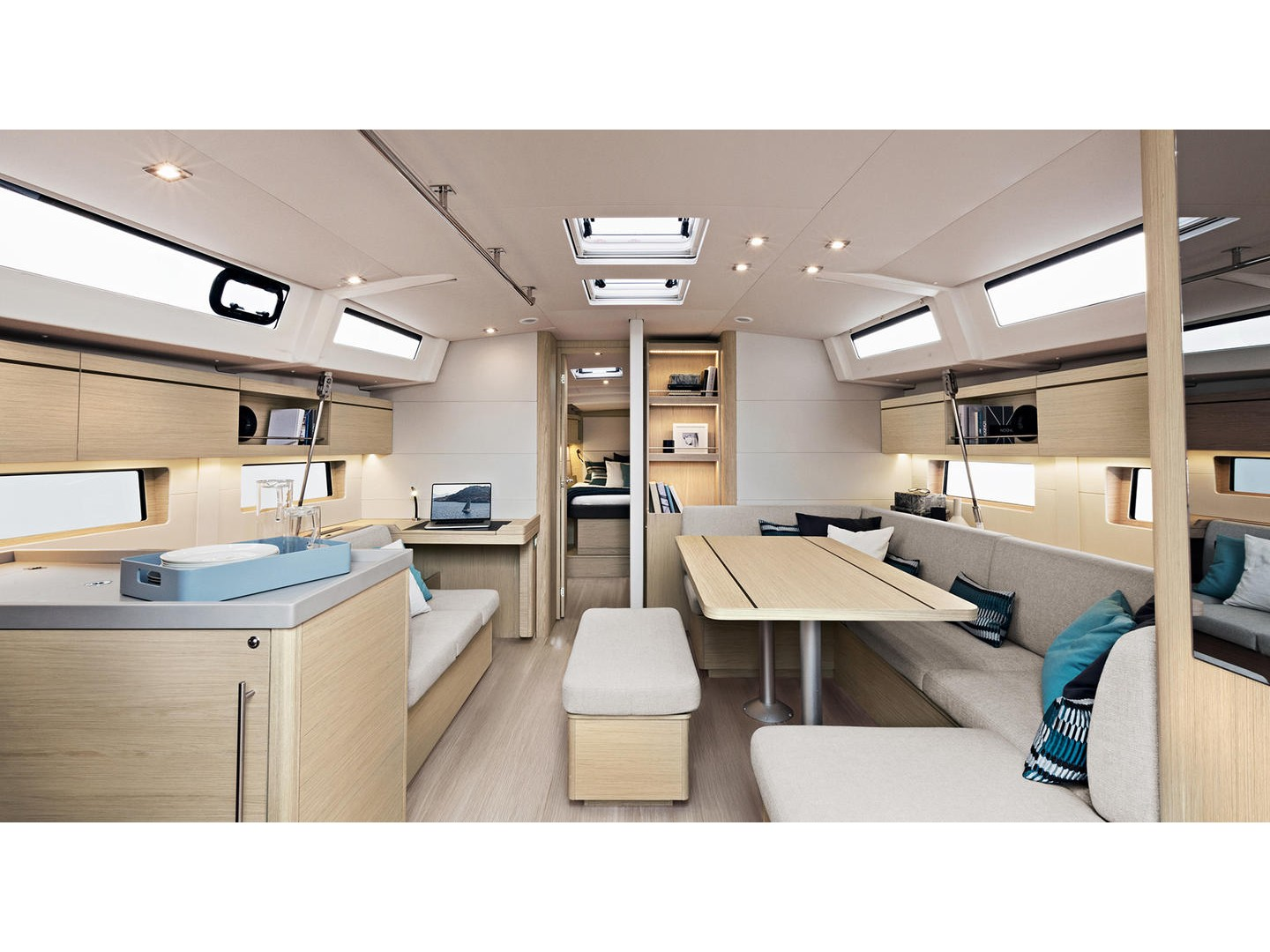 Oceanis 46.1 / 3 cabins (Lady Relax) Interior image - 1