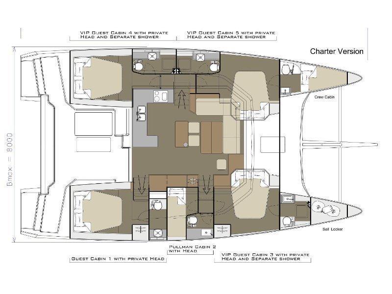 Dufour 48 (BELIEVE) Plan image - 2