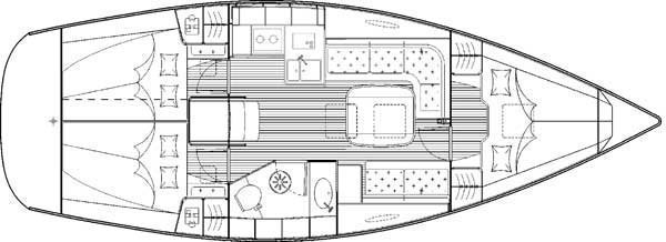 Bavaria 35 Cruiser (B35-2) Plan image - 5