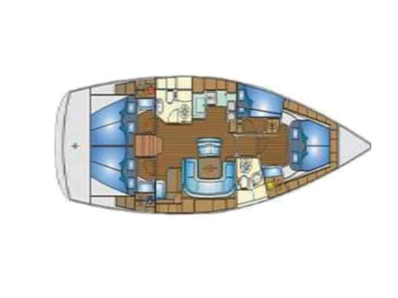 Bavaria 46 Cruiser (Chloe) Plan image - 23