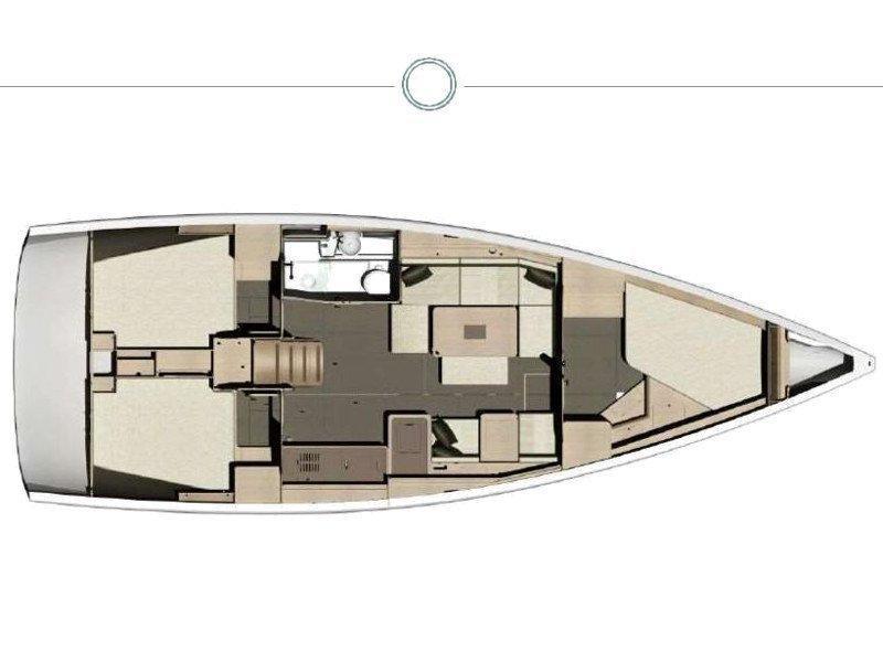Dufour 410 Grand Large (Fourten) Plan image - 4