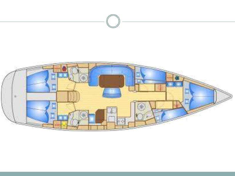 Bavaria 50 Cruiser (Jeannine) Plan image - 29