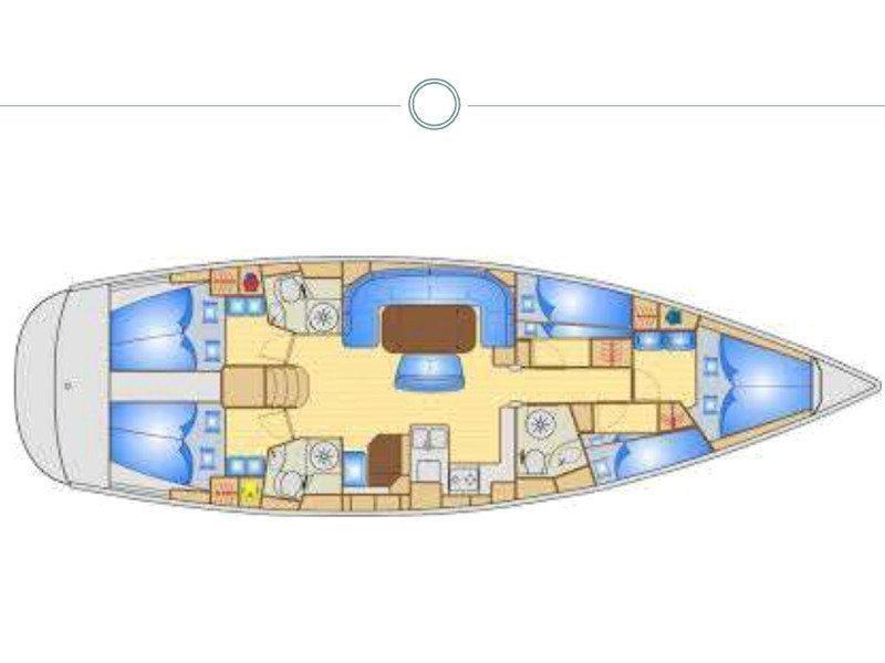 Bavaria 50 Cruiser (Leading Lady) Plan image - 4