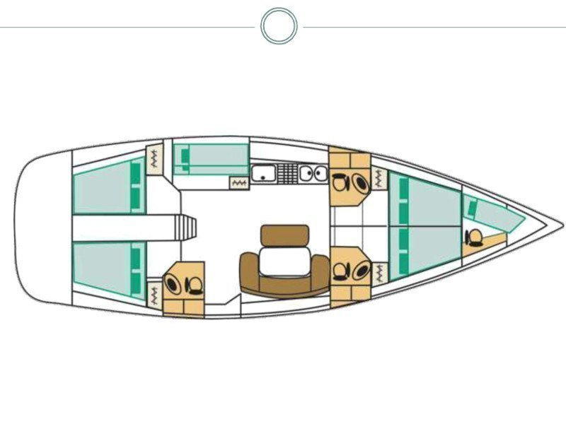 Cyclades 50.5 (Moonbreeze) Plan image - 17