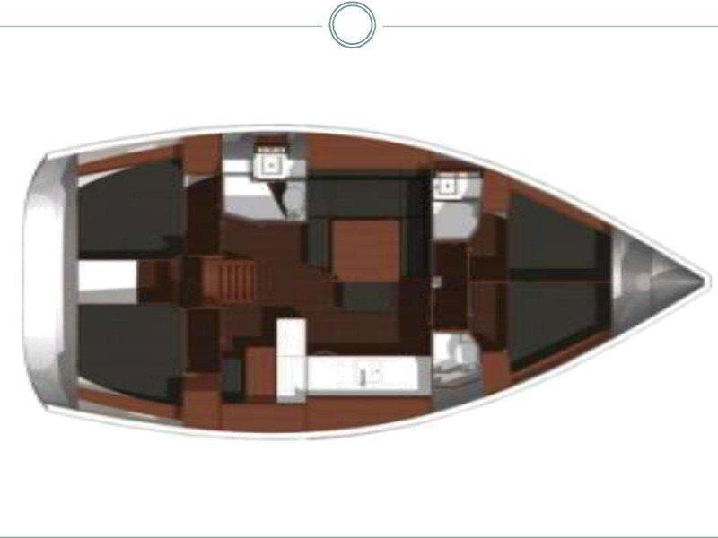 Dufour 450 GL (Oscar Time) Plan image - 28