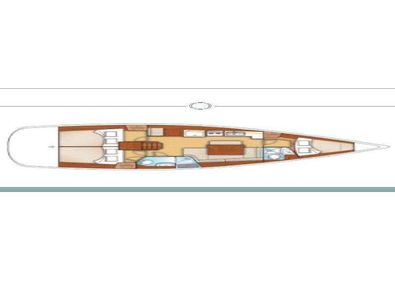 Oceanis 40 (Shubunkin) Plan image - 17