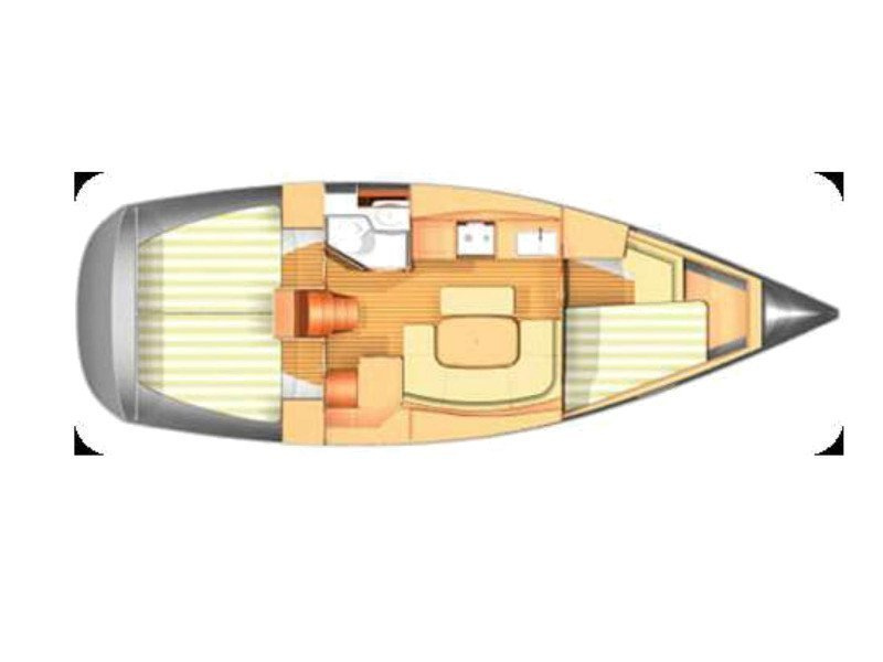Dufour 365 (Skiros) Plan image - 22