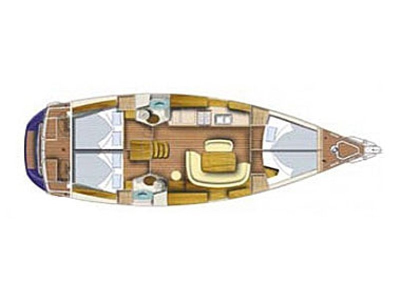 Sun Odyssey 45 (Indigo) Plan image - 3