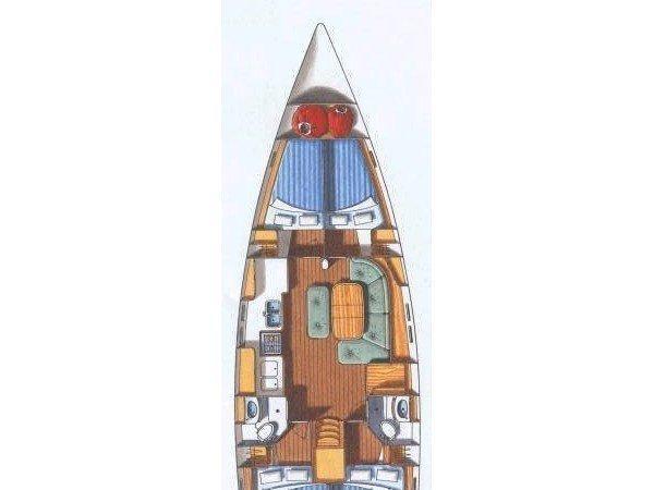 Beneteau 473 (Yemanja in Blu) Plan image - 1