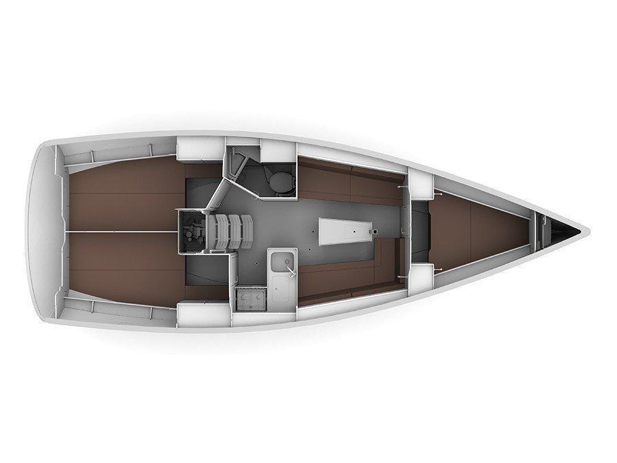 Bavaria 37 Cruiser (Kristina) Plan image - 1