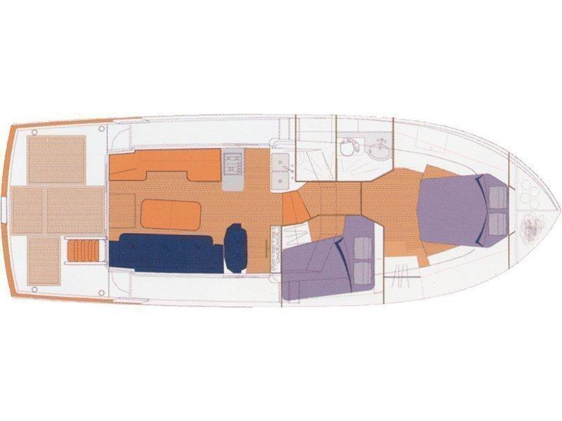Beneteau S. Trawler 42 (Podatok) Plan image - 20