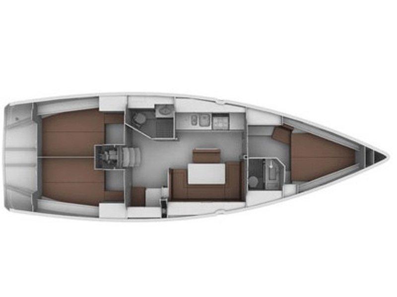 Bavaria 40 Cruiser (Ili Billy) Plan image - 11