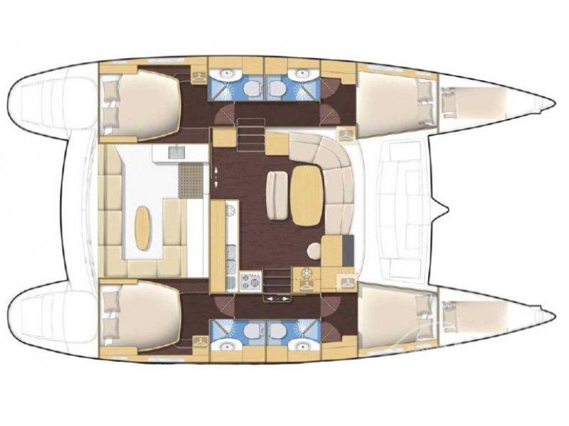 Lagoon 440 (no name) Plan image - 4