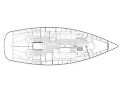 Bavaria 38 Cruiser  (Marge ( in water from 2012 )) Plan image - 4