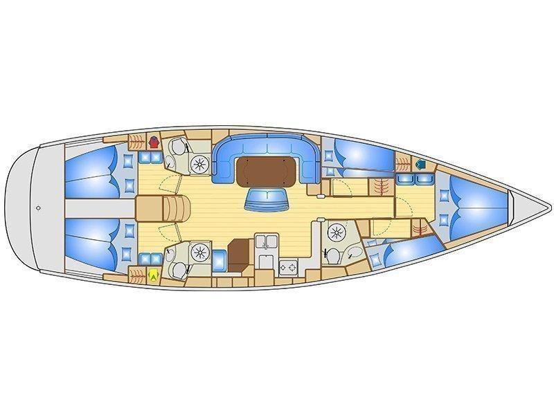 Bavaria 40 Vision (Asch) Plan image - 3