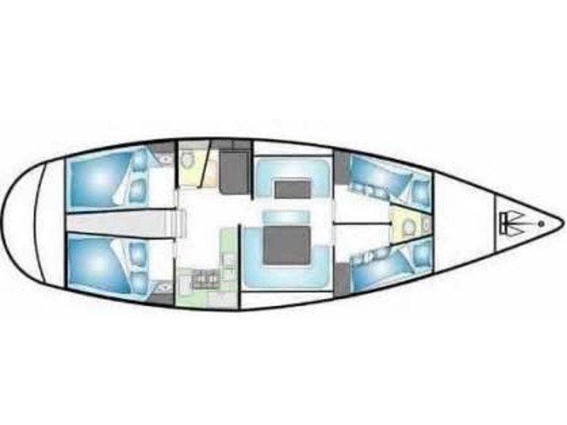 Gib Sea 126 (Chloé D'Egée) Plan image - 2