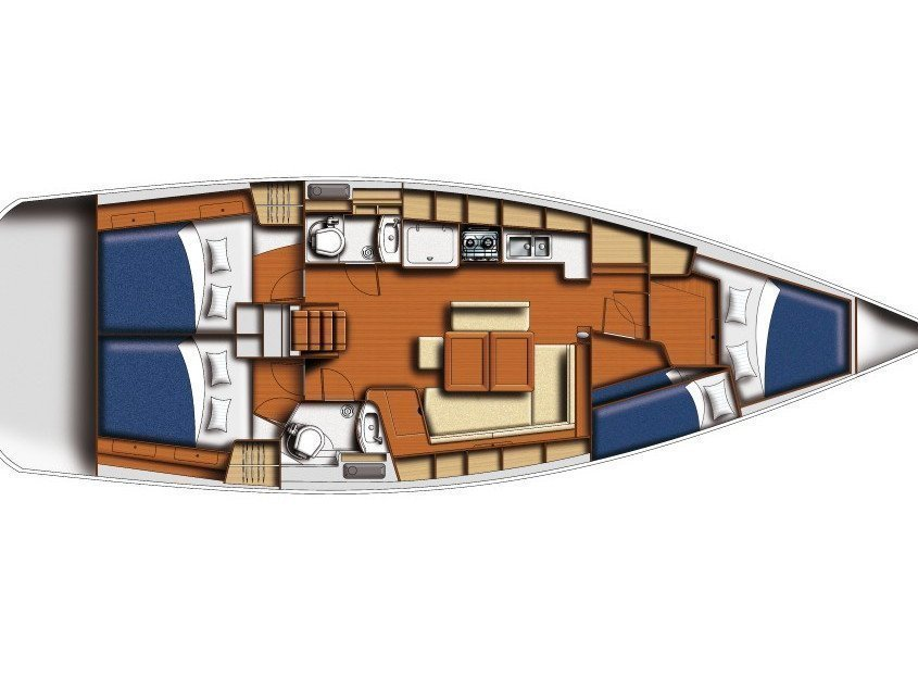Oceanis 43 (GOODBAR) Plan image - 1
