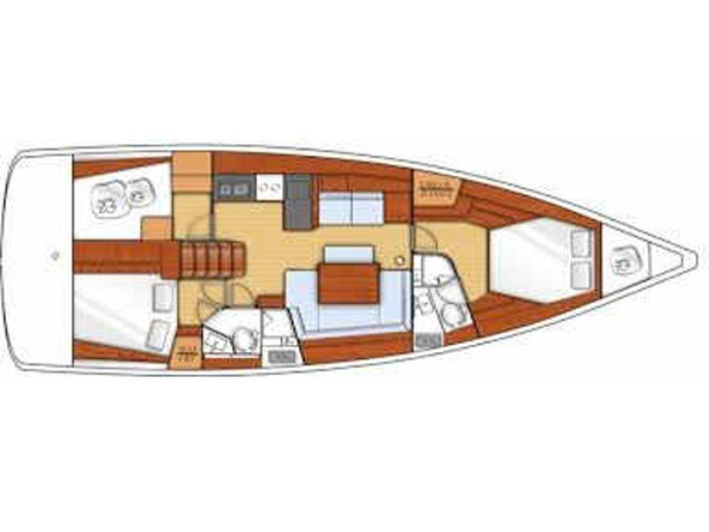 Oceanis 45 (AVALON) Plan image - 2