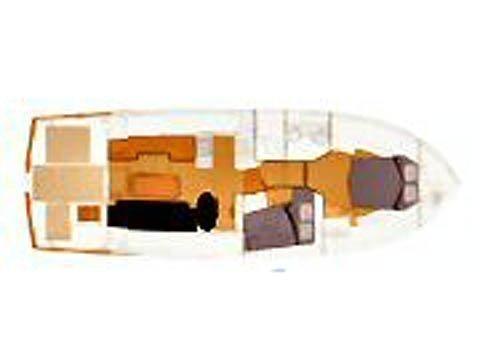 Swift Trawler 42 (Skitnica) Plan image - 5