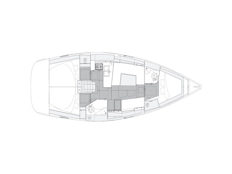 Elan 40.1 Impression (FUNKY) Plan image - 15
