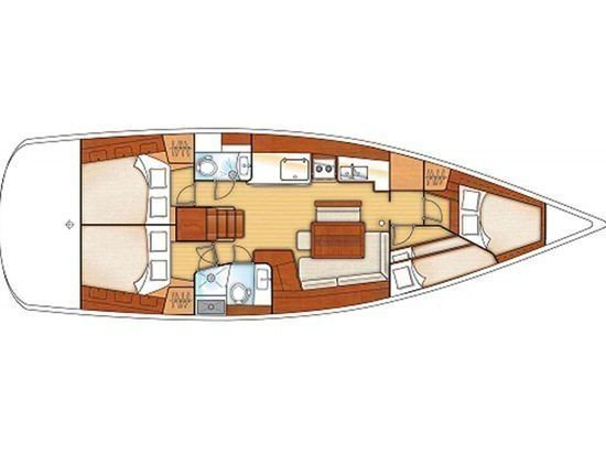 Oceanis 46 (Elliana) Plan image - 13