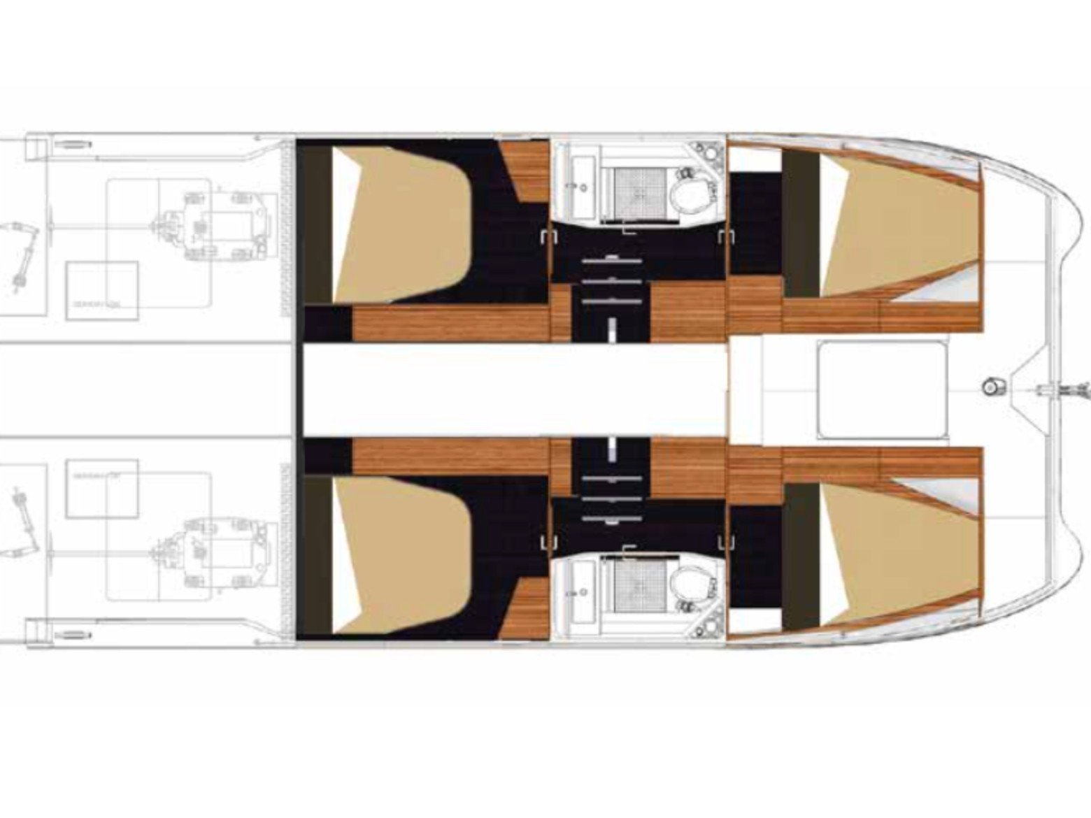 Fountaine Pajot MY 37[G] (Jam) Plan image - 4